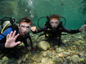 Diving in Eilat